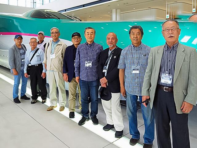 鉄道博物館 新幹線車両展示