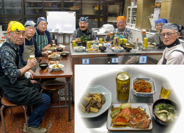 料理研究会のメンバー