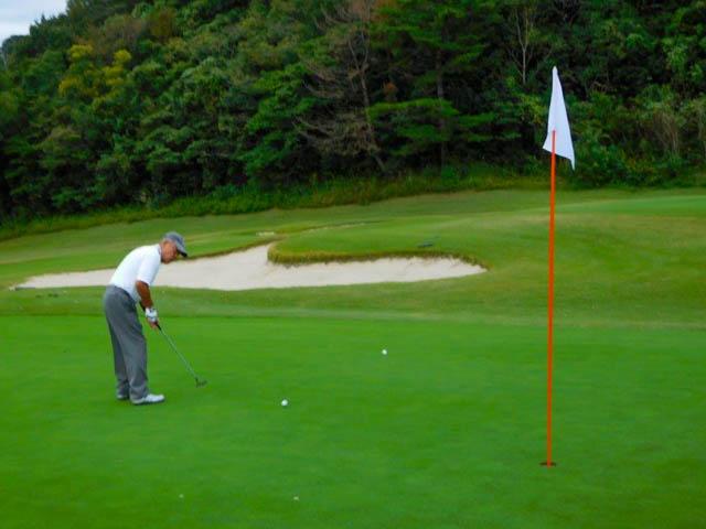 ゴルフのパット